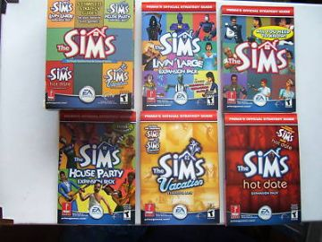 The Sims  PC 5 x Strategy Guides